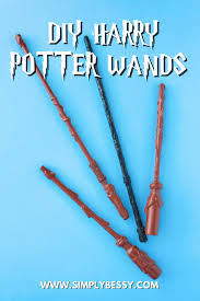 diy harry potter wands simply bessy