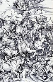 section the black death durer s the four horsemen of the apocalypse click to see larger image