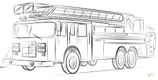 Fire Truck Printable Coloring Pages Fire Truck Coloring Pages To