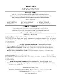 Internship Resume Examples Fascinating Sample Resume Internship Banking Resume Examples Sample Resume For