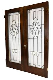 this lovely set of authentic arts and crafts french doors are great for allow light to