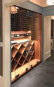 Glass Wine Room Design Modern Wine Room With Glass Doors Home Wine Cellars Glass
