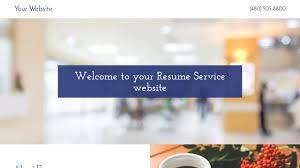 Resume Service Website Templates Godaddy