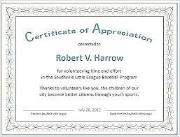 Free Appreciation Certificates Printable Certificates Of Appreciation Templates Download