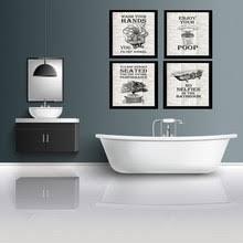 art poster for <b>toilet</b>