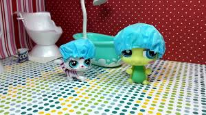 easy diy custom lps doll accessories how to make a tiny shower cap