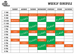 Make A Time Schedule Building Your College Class Schedule Get Schooled