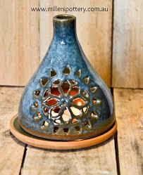australian handmade ceramic candle holder by millerspottery com