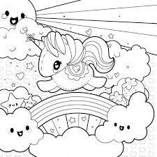 coloring pages unicorns rainbows unicorn rainbow archives my graphic hunt printable colori