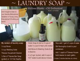 homemade liquid laundry detergent go to youngliving com and order using sponsor id