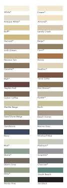 Grout Colors Chart Colored Tile Grouts