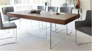 remarkable modern dark wood dining table glass legs seats 6 to 8 dark wood dining