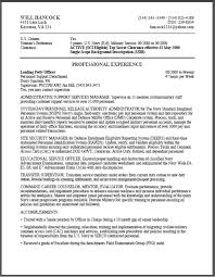 Federal Resume Example Examples Of Resumes