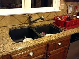 replacing undermount sink sink installation of undermount sinks granite countertops