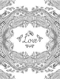 Small Picture Luxury Love Coloring Pages For Adults 36 With Additional Coloring