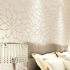 Gold glitter modern wallpaper flower designs textured 3d wall panel  seamless contact paper for TV background papel de parede-in Wallpapers from  Home ...