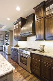 Customized Kitchen Cabinets Enchanting Knotty Alder Custom Cabinetry Kitchen Cabinets Stacked Cabinet