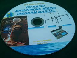 cb radio microphone wiring diagram manual on cd