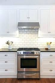 no grout tile backsplash grout tile white kitchen cabinets with white subway tile beveled subway tile no grout tile backsplash