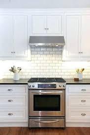 no grout tile backsplash grout tile white kitchen cabinets with white subway tile beveled subway tile no grout tile backsplash