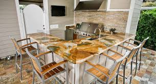 Outdoor Kitchen Countertop Outdoor Kitchen Countertops Orlando Adp Surfaces