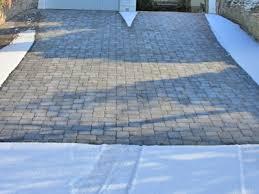 snow melting get a heated driveway heatizon systems Driveway Ice Melt Systems heated pavers, stone & tile