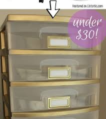 home decorating ideas for give your plastic storage drawers a face lift with spray paint perfect for a ho awesome home design ideas and decor