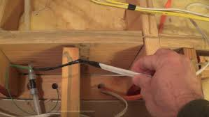 how to fish wire down a wall from attic to crawl space you rh you com wiring wall mounted tv ideas in wall speaker wiring diagram