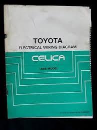 1986 toyota celica oem factory dealership electrical wiring image is loading 1986 toyota celica oem factory dealership electrical wiring