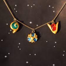 zelda spiritual stones charm necklace