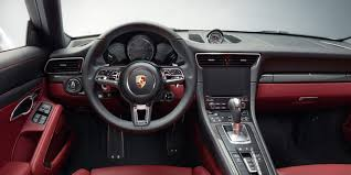 porsche 911 turbo s interior. 2017 porsche 911 turbo s interior