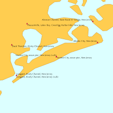 Ventnor City Ocean Pier New Jersey Sub Tide Chart