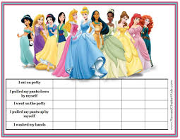Elsa Potty Training Chart When Are Kids Ready To Potty Train Disney Princess Potty
