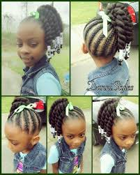 African Braids Hairstyles 24 Best Pin By C R On Little Black Girls Hair Pinterest Quick Braided