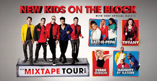 New Kids On The Block Announce The Mixtape Tour With Very