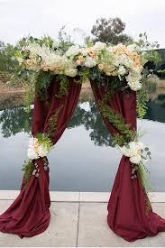 Wedding Design Ideas 30 elegant fall burgundy and gold wedding ideas