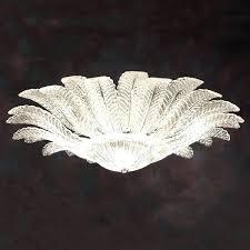 chandeliers glass ceiling light milk chandelier crystals martha stewart
