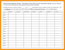College Class Scheduler Weekly Timetable Template Free Schedule Templates For Excel Intended