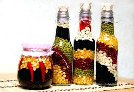 Decorative Colored Glass Bottles Glass Bottle Decor Glass Bottles Decor Ideas Glass Bottle Crafts 38