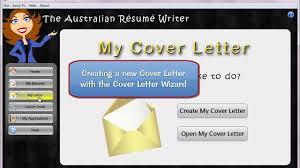 The Australian Resume Writer Cover Letter Wizard Youtube