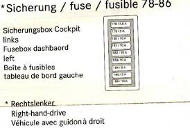 Mercedes S Class W220 Fuse Chart Fuses W220 S Class Encyclopedia