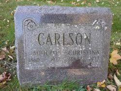 Christina Carlson (1864-1922) - Find A Grave Memorial