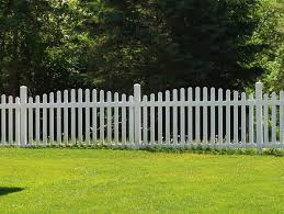 picket fence double gate. Olympia Arched Vinyl Picket Fence Double Gate