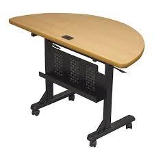 round office desks. Balt Flipper Half Round Office Table Desks U
