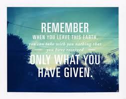 Stewardship Quotes Generosity Quotes Stewardship Blog 13