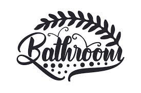 Bathroom Svg Cut File By Creative Fabrica Crafts Creative Fabrica