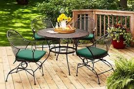 patio furniture. Better Homes And Gardens Clayton Court 5-Piece Patio Dining Set Patio Furniture