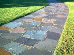 slate patio flagstone project outdoor stone cleaner exterior tile adhesive tiles with grout haze before