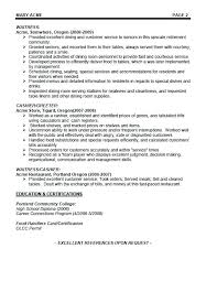 Examples Of Bartender Resumes Best Of Server Bartender Resume Example Awesome Bartender Resume Fresh