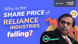 Live share price, historical charts, volume, market capitalisation, market performance, reports and other company details. Reliance Share Price Why Share Price Of Reliance Industries Falling Reliance Share Latest News Youtube